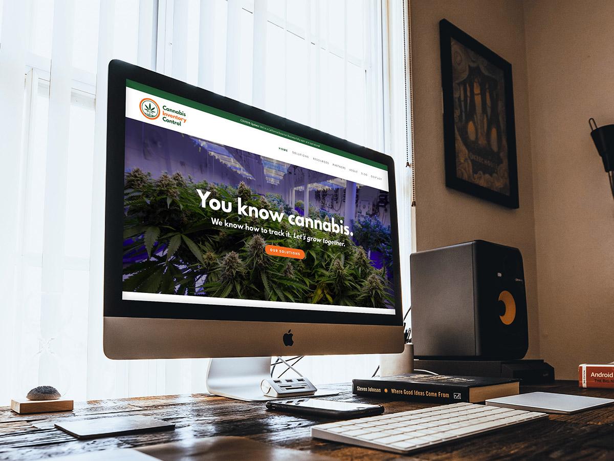 Cannabis Inventory Control website design