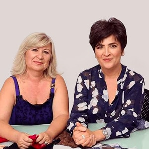 Julia and Rena, founders of Bandelettes®