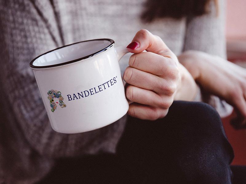 Bandelettes logo design