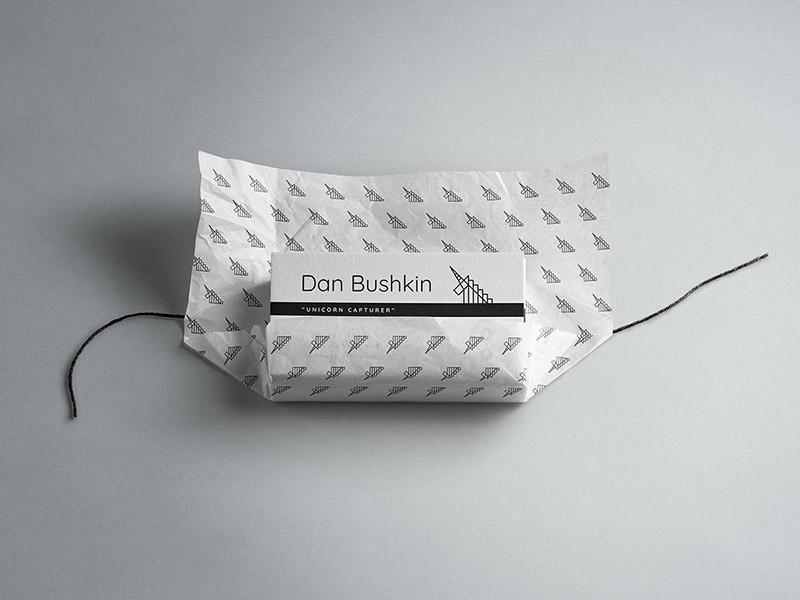 Dan Bushkin Photography business card design