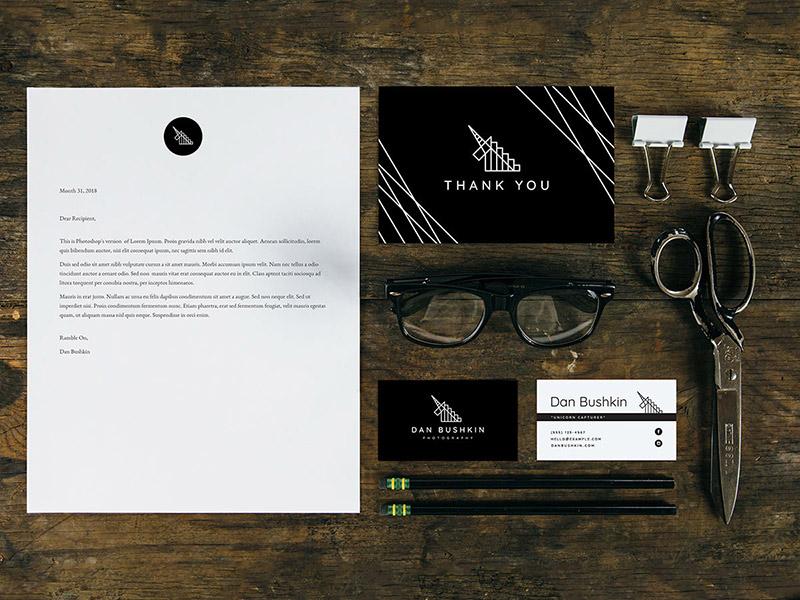Dan Bushkin Photography branded materials