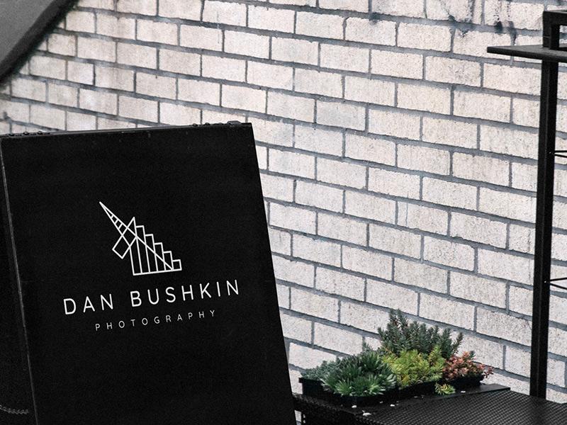 Dan Bushkin Photography logo design