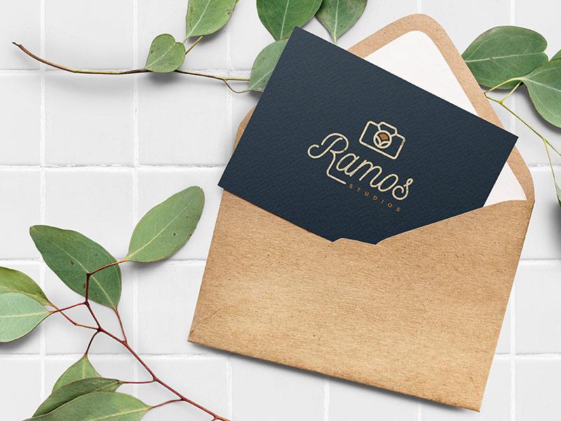 Ramos Studios thank you card design