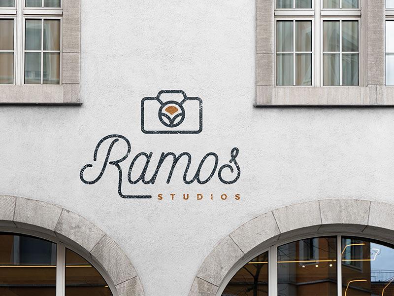 Ramos Studios logo design