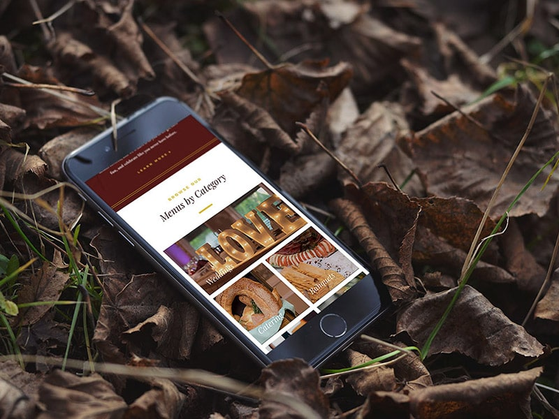 Spring Lake Manor responsive website design
